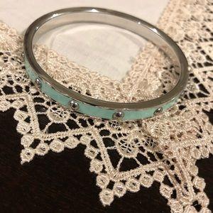 Coach Jewelry - Coach bangle robins egg bracelet